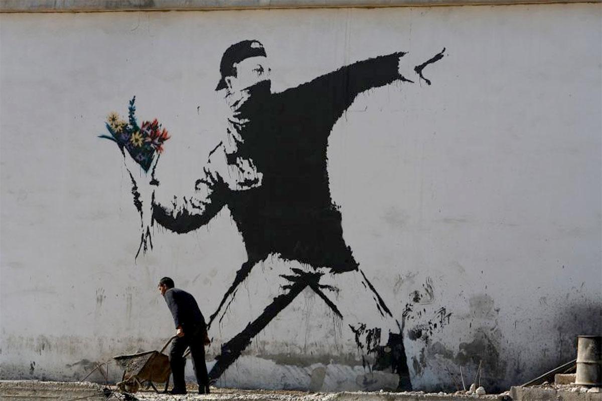 Resultado de imagen de Banksy y la desobediencia